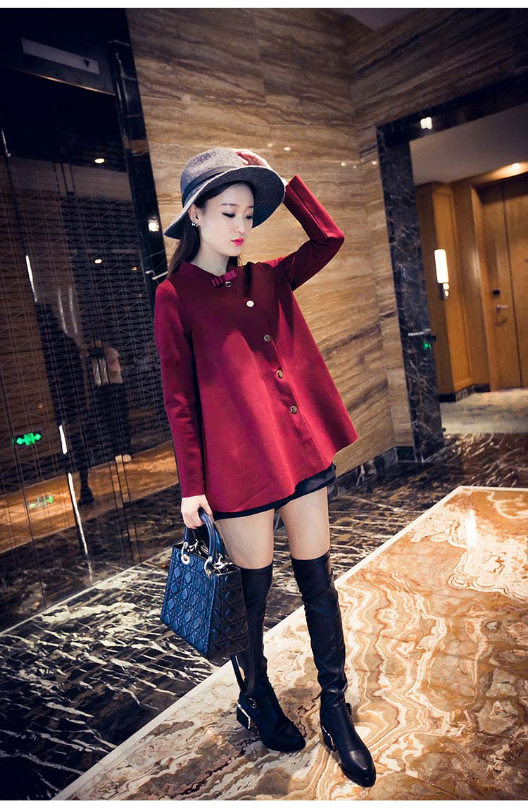 COAT WANITA MODERN KOREA 2015 FASHION
