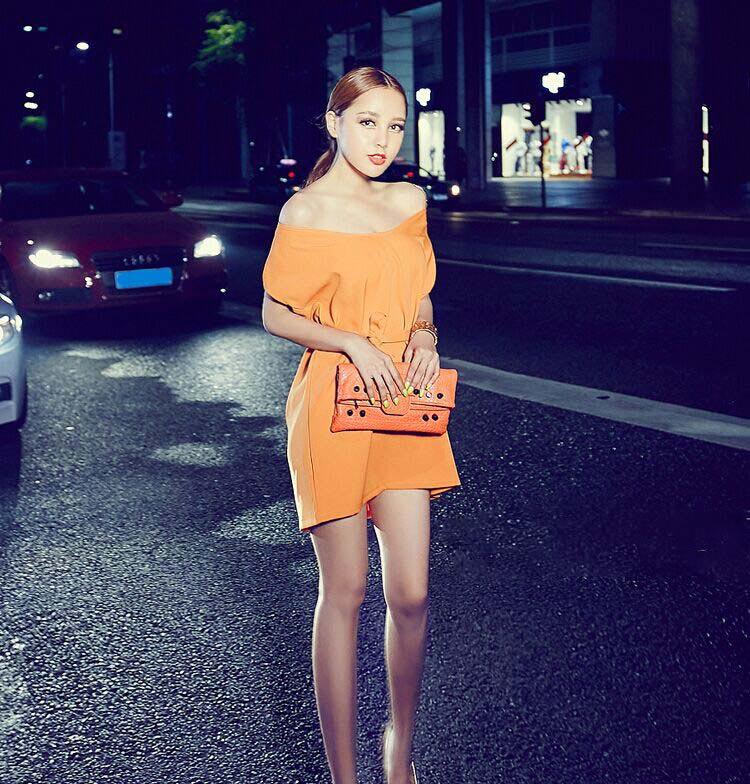DRESS KOREA CANTIK TERBARU MODEL 2015