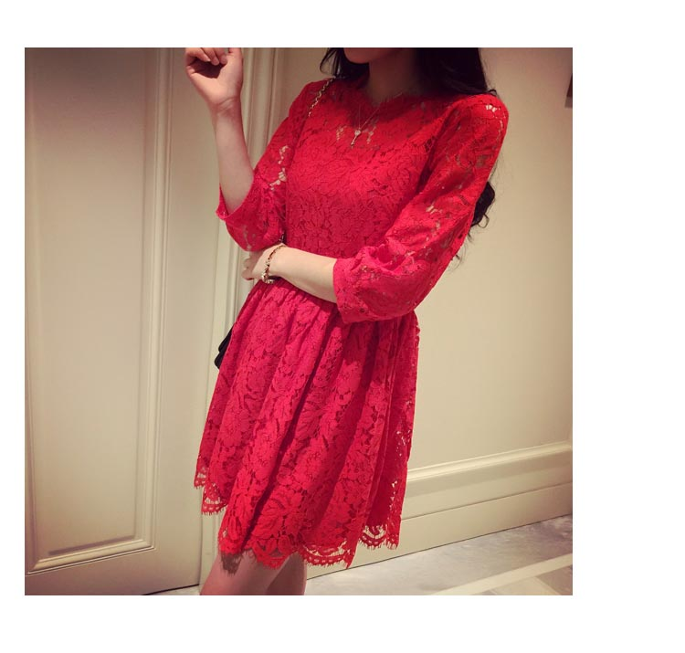 DRESS MERAH CANTIK TERMODIS 2015
