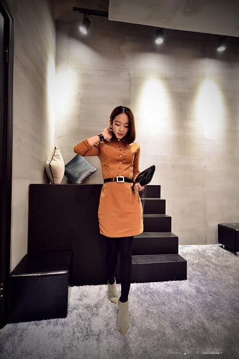 DRESS WANITA CANTIK MODEL KOREA TERBARU 2015