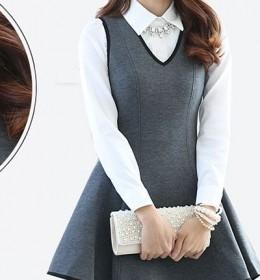 DRESS CANTIK KOREA TERBARU 2015