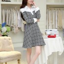 JUAL DRESS FLANEL CANTIK SIMPLE TERBARU 2015