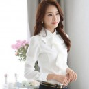 BLOUSE PUTIH ONLINE IMPORT MODERN FAHION