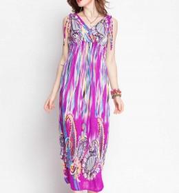 JUAL LONG DRESS LENGAN BUNTUNG ONLINE TERBARU