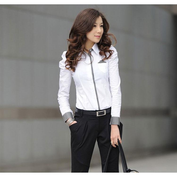 Baju-Kantor-Wanita-Putih-Lengan-Panjang.jpg ...