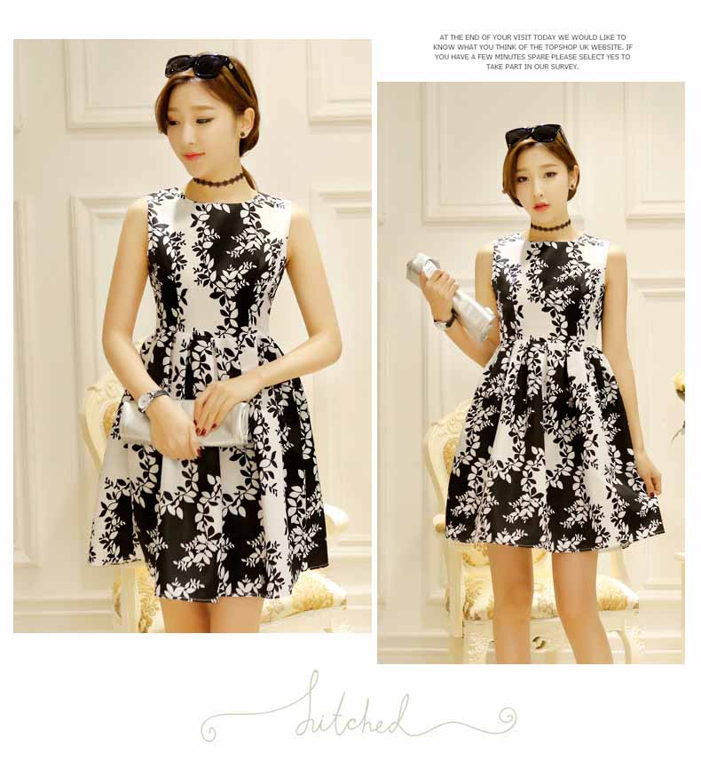 DRESS KOREA CANTIK LENGAN BUNTUNG 2016 FASHION