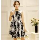 DRESS KOREA CANTIK LENGAN BUNTUNG 2016 SIMPLE