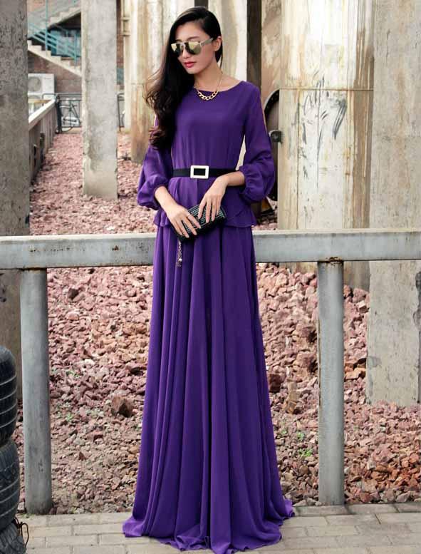 JUAL LONG DRESS ELEGANT IMPORT TERBARU 2016