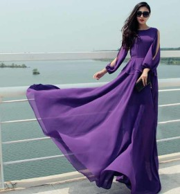 LONG DRESS ELEGANT IMPORT TERBARU 2016 FASHION
