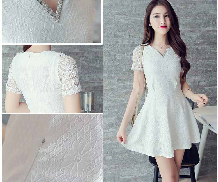 Mini Dress Korea Lengan Pendek 2016 Model Terbaru Jual Murah
