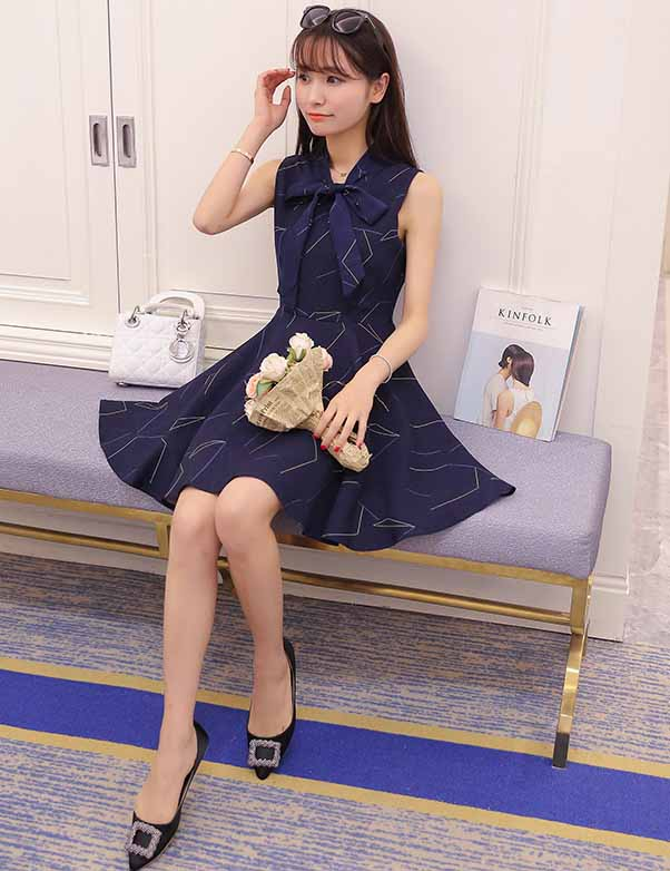 DRESS SIMPLE CANTIK ONLINE IMPORT 2016 FASHION