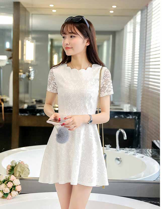 Mau Baju Dress Pendek Korea Simple Fashionable Toko Jual Baju