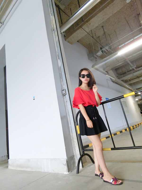 blouse-wanita-cantik-import-2016-korea
