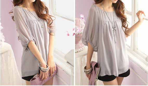blouse-wanita-cantik-simple-2016