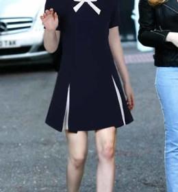 dress-lengan-pendek-cantik-korea-import