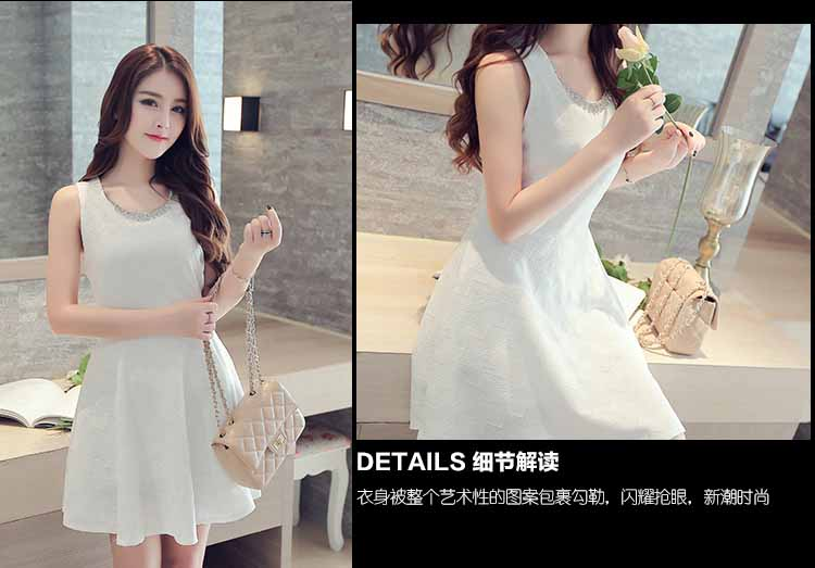 dress-putih-cantik-korea-terbaru-2016-elegant