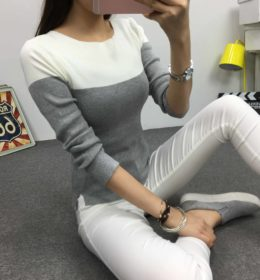 gray-sweater-simple-terbaru-2016-korea
