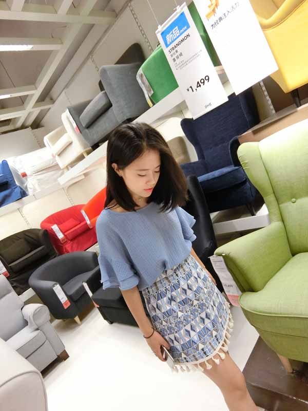 jual-blouse-biru-simple-modis-2016