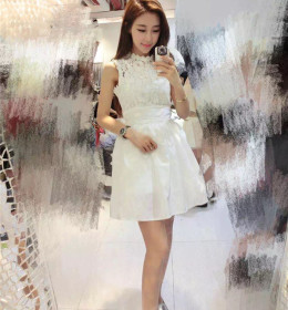jual-dress-lengan-buntung-renda-2016