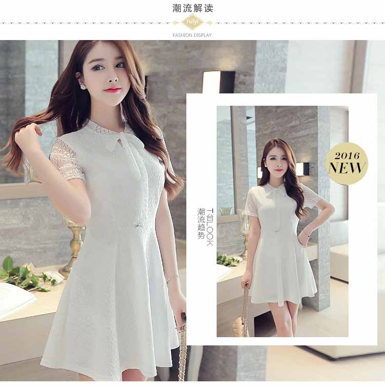 jual-dress-putih-pita-cantik-import-2016