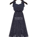 jual-long-dress-polkadot-simple-cantik-2016