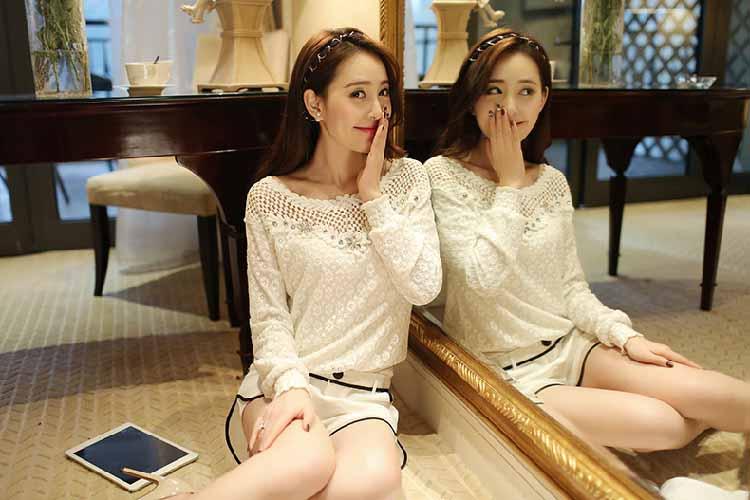 baju-atasan-bermotif-lengan-panjang-2016-korea