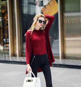 baju-wanita-merah-simple-terbaru-2016