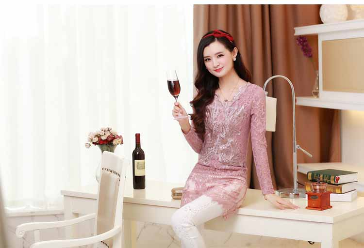 blouse-brokat-pink-lengan-panjang-2016-fashion