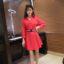dress-natal-lengan-panjang-simple-2016-korea