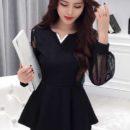 jual-blouse-lengan-panjang-hitam-cantik