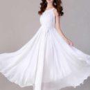 long-dress-putih-cantik-elegant-terbaru