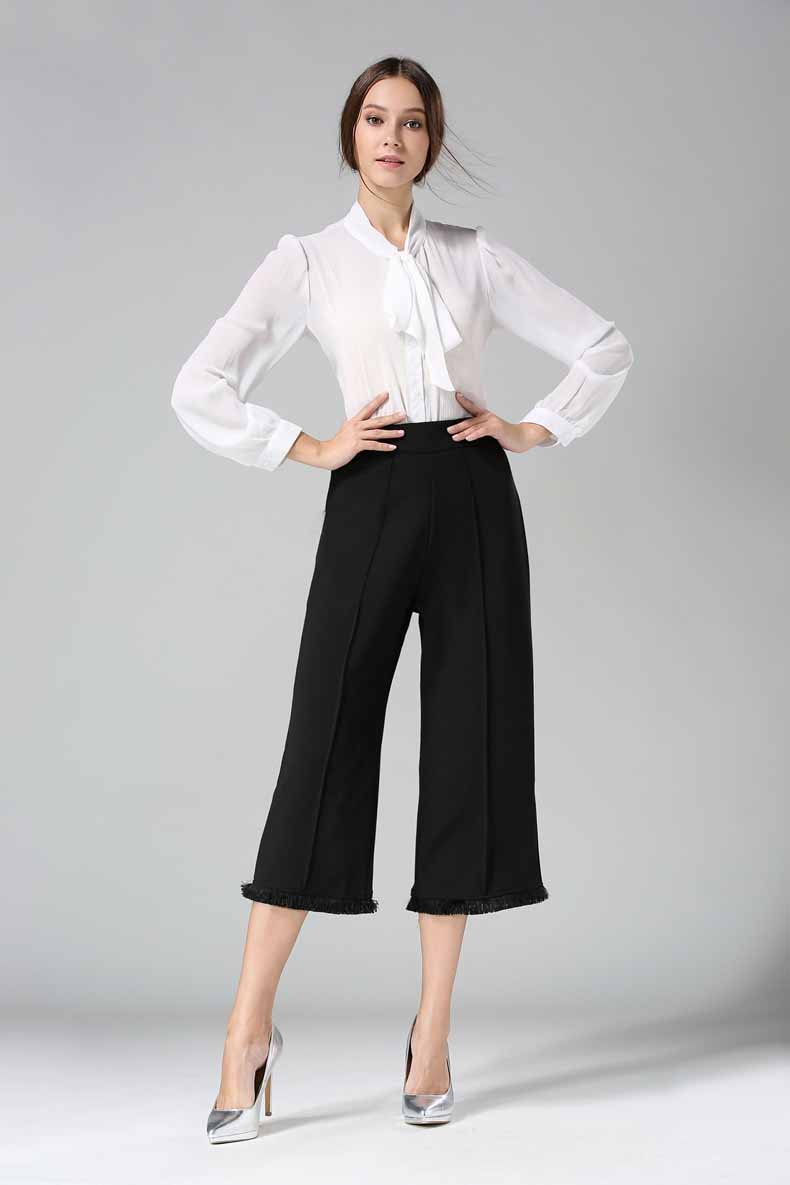 CULOTTE PANTS BLACK TERBARU MODIS 2017