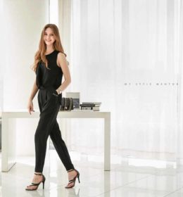 JUMPSUIT WANITA SIMPLE BLACK TRENDY 2017 ONLINE