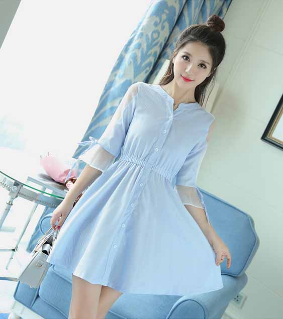 DRESS WANITA CANTIK IMPORT MURAH 2017