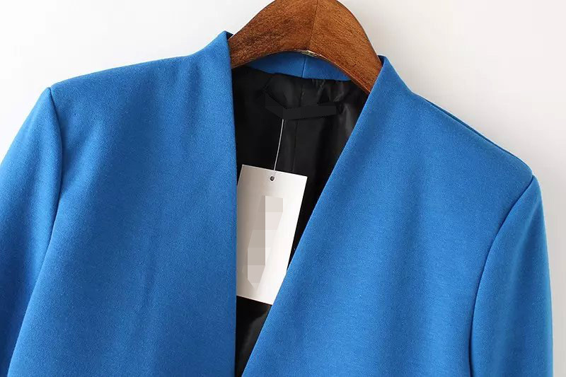 BLAZER WANITA WARNA BIRU MODEL CASUAL FASHION