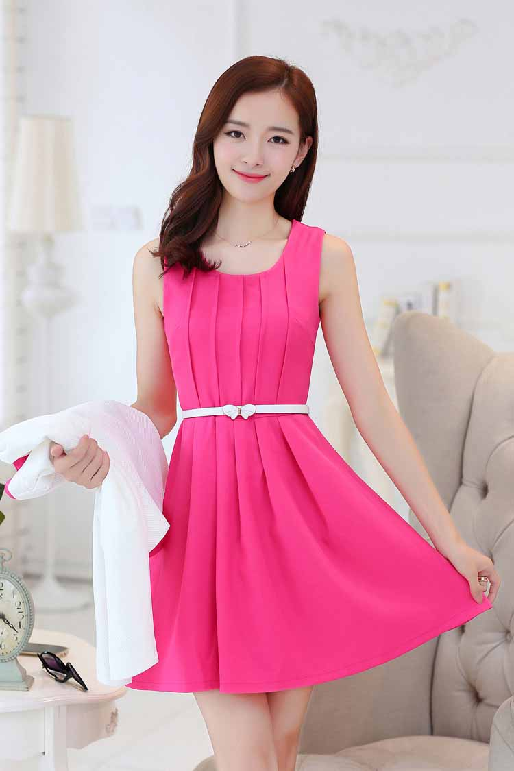 DRESS WANITA KOREA KOMBINASI BLAZER IMPORT MURAH