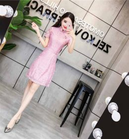 CHEONGSAM DRESS MODERN TERBARU 2018