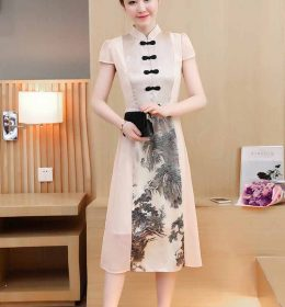 DRESS CHEONGSAM MODEL TERBARU 2018