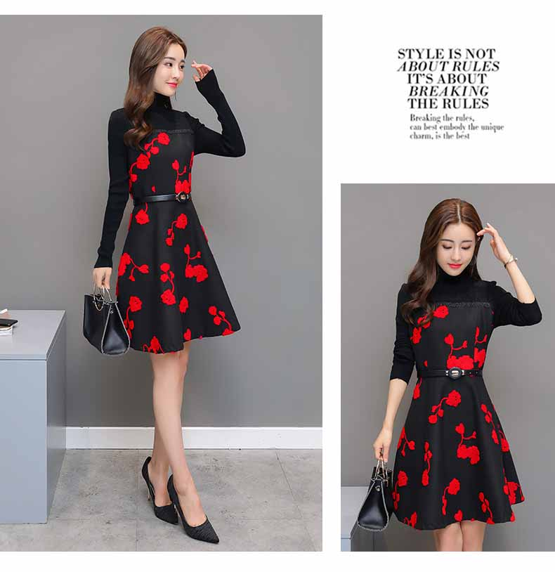 DRESS RAJUT KOREA IMPORT ONLINE 2018 FASHION
