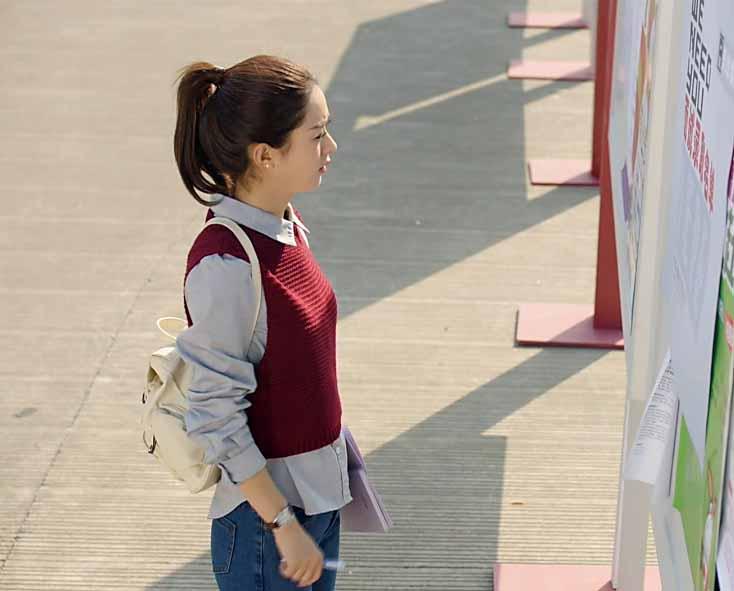 ROMPI WANITA MAROON LENGAN PENDEK KOREA