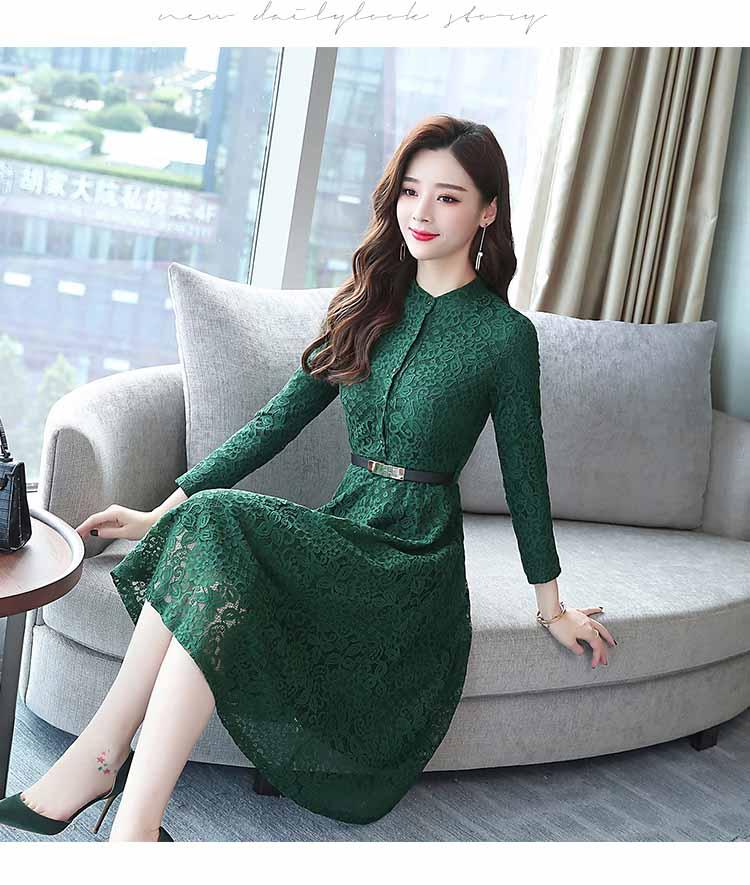 DRESS PESTA WANITA BROKAT IMPORT 2018 FASHION