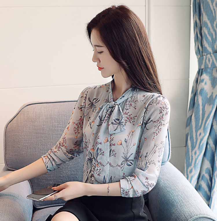KEMEJA WANITA LENGAN PANJANG KOREA 2018 FASHION