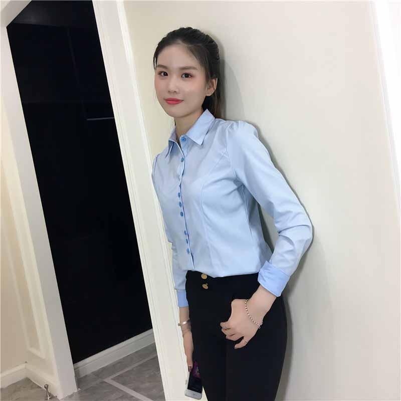Model Kemeja Kerja Wanita Trendy 2019