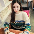 JUAL SWEATER IMPORT MODEL TRIBAL KOREA