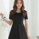 MINI DRESS HITAM MENAWAN MODEL 2016 MODIS