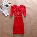 DRESS IMPORT MERAH CANTIK NATAL, DRESS IMPORT MERAH NATAL, DRESS IMPORT MERAH PANJANG, DRESS IMPORT EDISI NATAL, DRESS IMPORT COCOK UNTUK NATAL, DRESS MERAH PANJANG