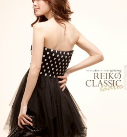 DRESS PESTA IMPORT CANTIK HITAM MURAH
