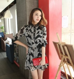 DRESS MOTIF IMPORT CANTIK TERBARU