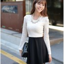 DRESS BROKAT KOREA TERBARU 2014