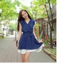 MINI DRESS IMPORT KOREA KERAH V